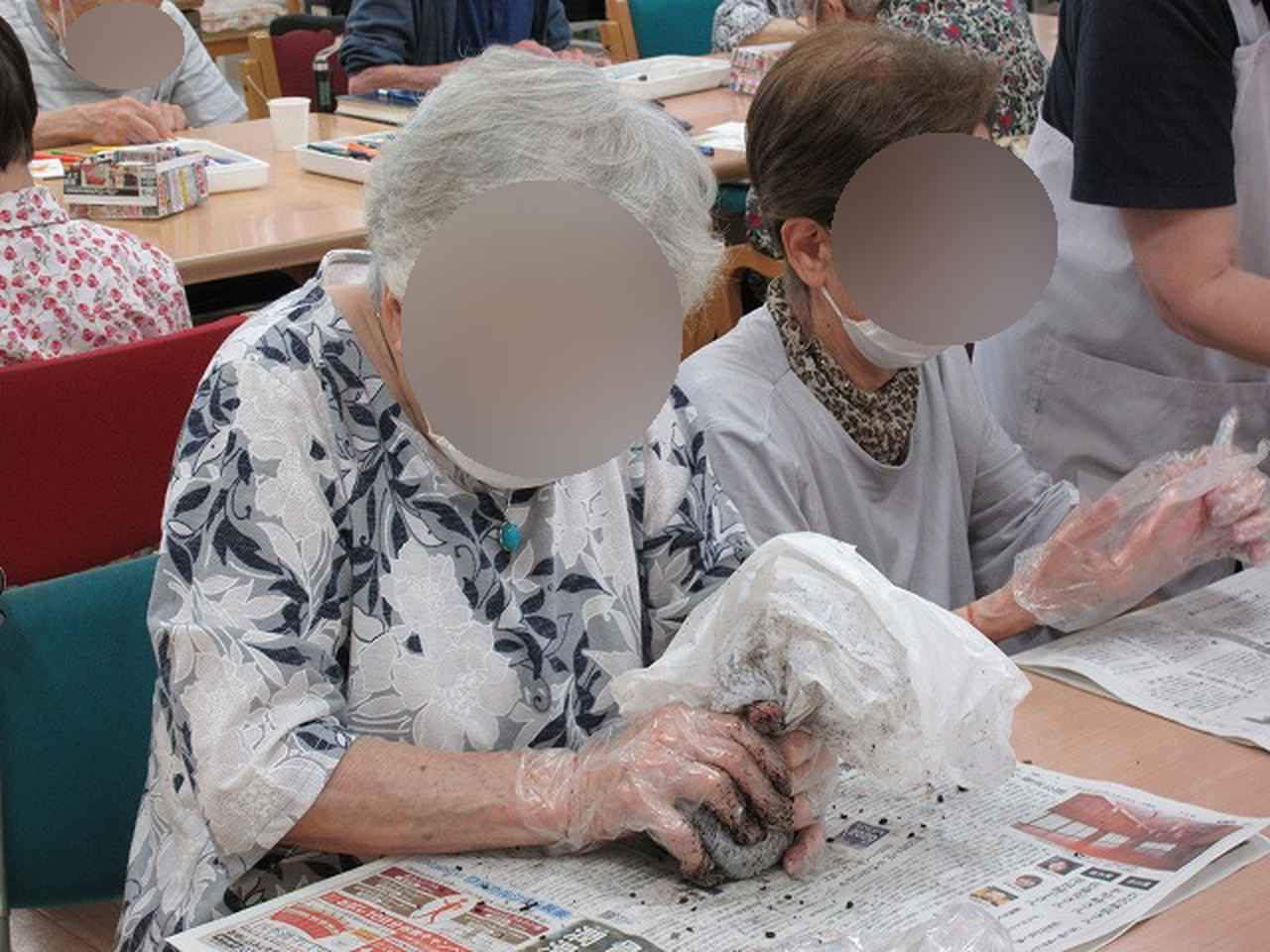 画像2: 苔玉作り