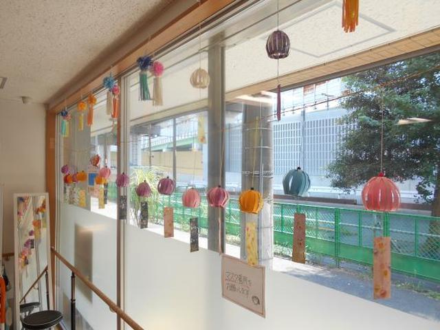 画像1: 季節工作【折り紙風鈴】