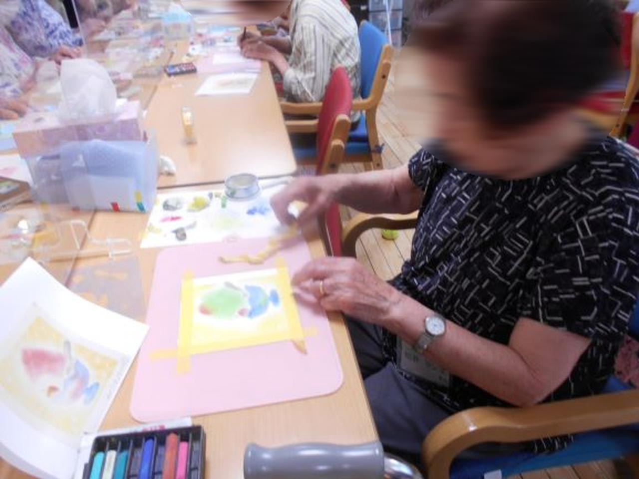 画像3: まごころ俱楽部高井戸「パステルシャインアート教室」