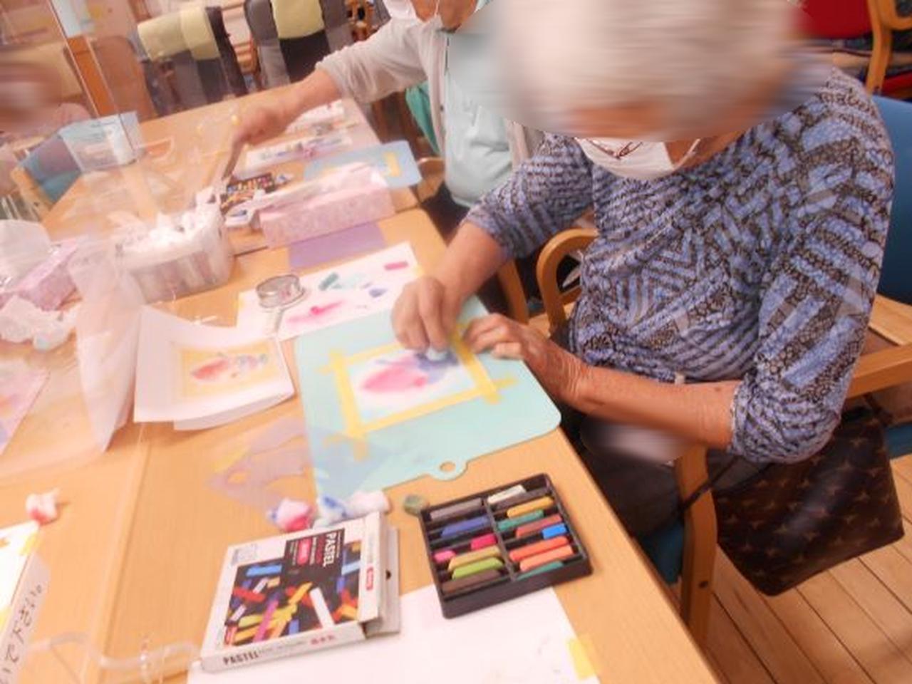 画像4: まごころ俱楽部高井戸「パステルシャインアート教室」