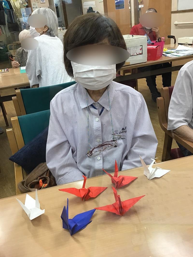 画像4: 「折り鶴プロジェクト」に参加しました