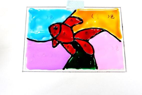 画像2: 手工芸「ステンドグラス」