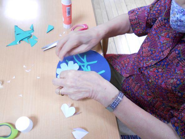 画像3: 季節の工作「紙工作・秋桜」