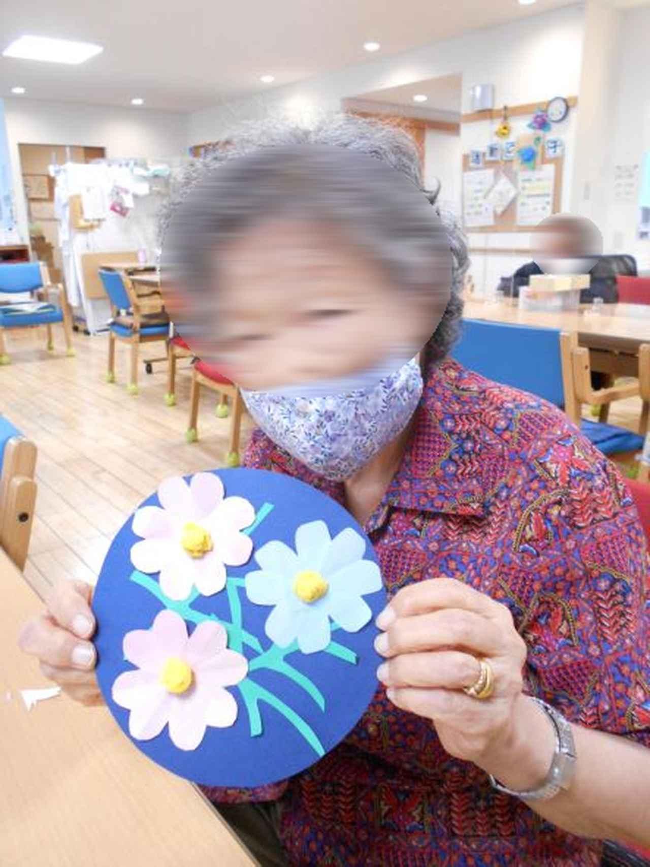 画像5: 季節の工作「紙工作・秋桜」