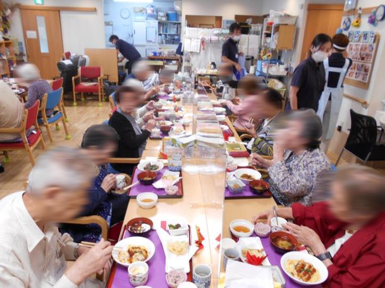 画像3: 祝 敬老会「ご長寿膳」&「全員集合」