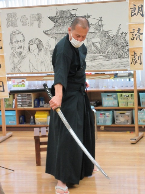画像3: 敬老の日 朗読劇 「羅生門」