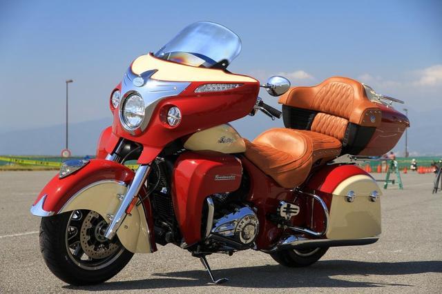 """画像: TOP OF THE MOTORCYCLE """"Indianan Road Master"""" Impression"""