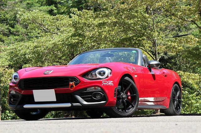 画像: ABARTH 124 Spider  RED POINT Version|CARCLE MAGAZINE
