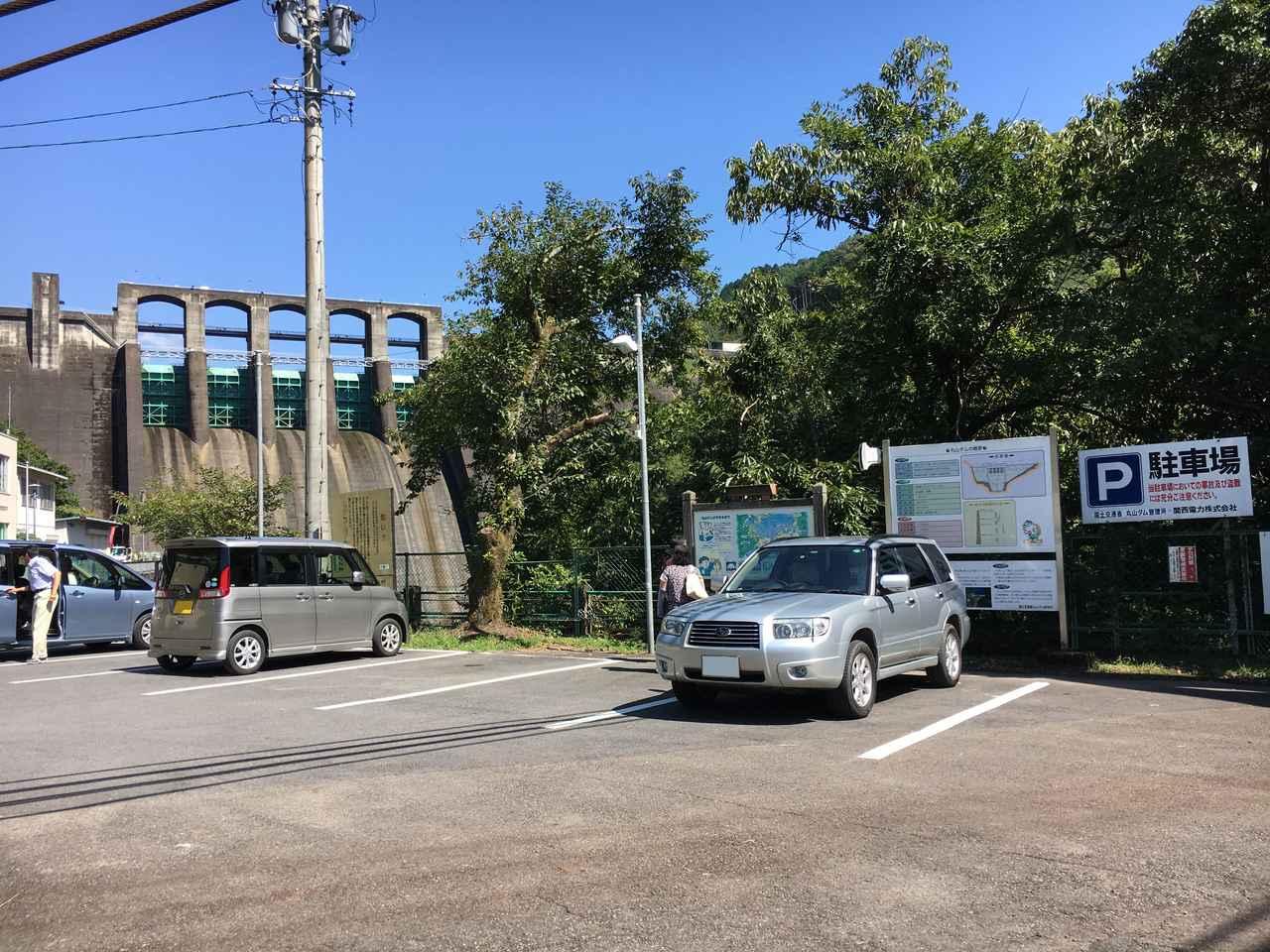 画像: 無料駐車場