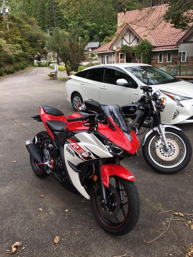 画像: こちらの2台は若い女性バイカーでした。バイクるに来てくれないかな。