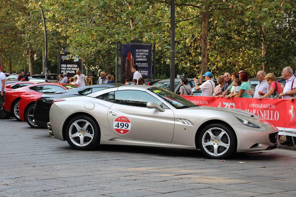 画像11: 1947年生まれのフェラーリ社は今年で丁度70歳! 70周年ということで全世界各地でイヴェントが開催されている。