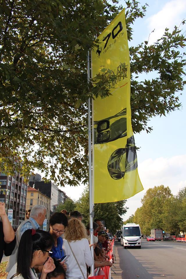 画像2: 1947年生まれのフェラーリ社は今年で丁度70歳! 70周年ということで全世界各地でイヴェントが開催されている。