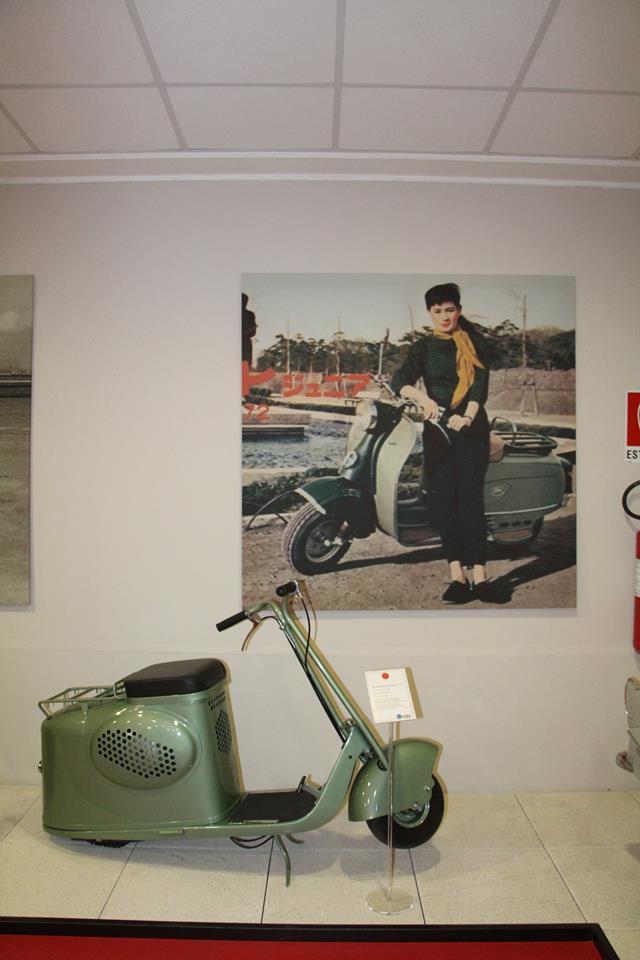画像20: ミラノの郊外にあるスクーターミュージアム MUSEO SCOOTER&LAMBRETTA