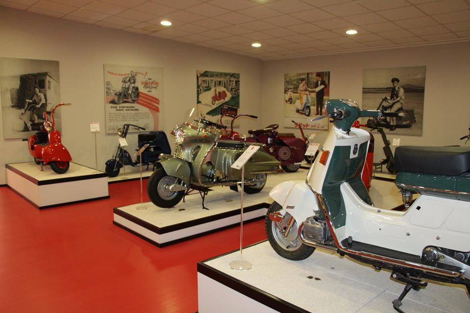 画像13: ミラノの郊外にあるスクーターミュージアム MUSEO SCOOTER&LAMBRETTA