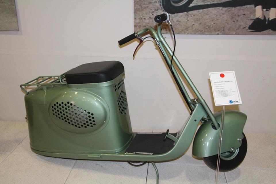 画像17: ミラノの郊外にあるスクーターミュージアム MUSEO SCOOTER&LAMBRETTA