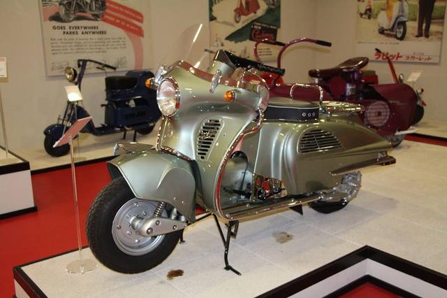 画像14: ミラノの郊外にあるスクーターミュージアム MUSEO SCOOTER&LAMBRETTA
