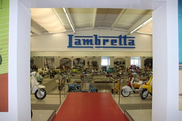画像1: ミラノの郊外にあるスクーターミュージアム MUSEO SCOOTER&LAMBRETTA