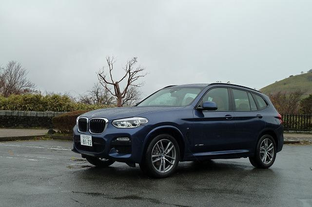 画像1: BMW新型X3試乗
