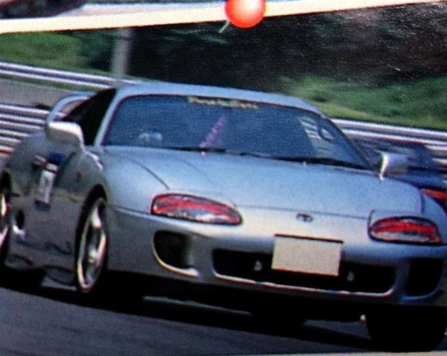 画像: 初めてのミッションカー。前期スープラ