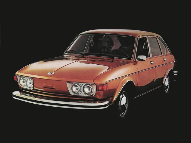 画像: 【412】 1972-1974 1968年登場の411の改良版。ビートル以外の(ドイツ国内での)空冷乗用モデル最終形態。 www.favcars.com
