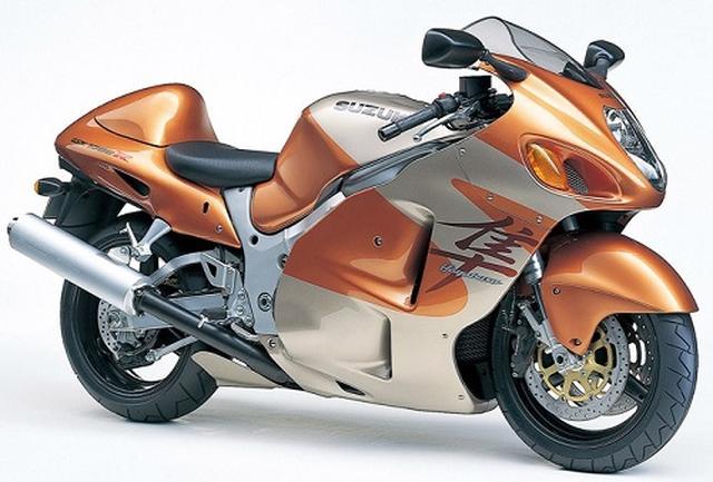 画像: Photo from https://bike-lineage.org/suzuki/gsx1300r/gsx1300r.html