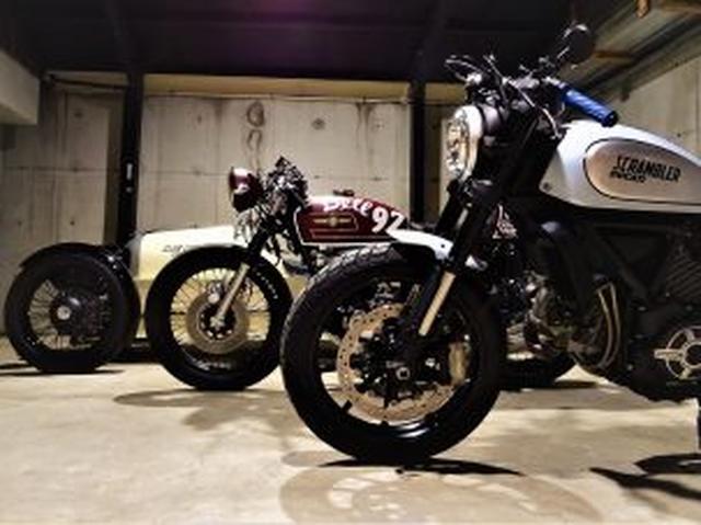 画像: COCO BLUE(ココブルー)|カフェレーサーカスタム・イタリアのモーターサイクルブランド正規取扱店