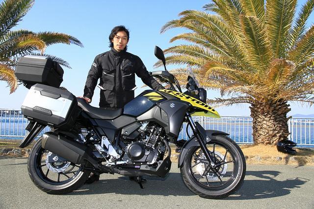 画像2: V-Strom 250開発者インタビュー