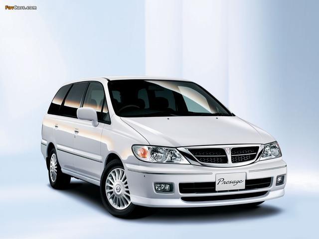 画像: 初代プレサージュ www.favcars.com