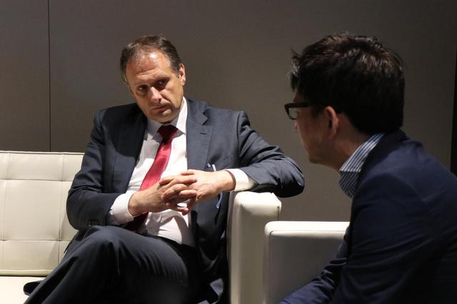 画像3: クリストフ プレヴォ社長への単独インタビューが実現。その模様をお届けします。
