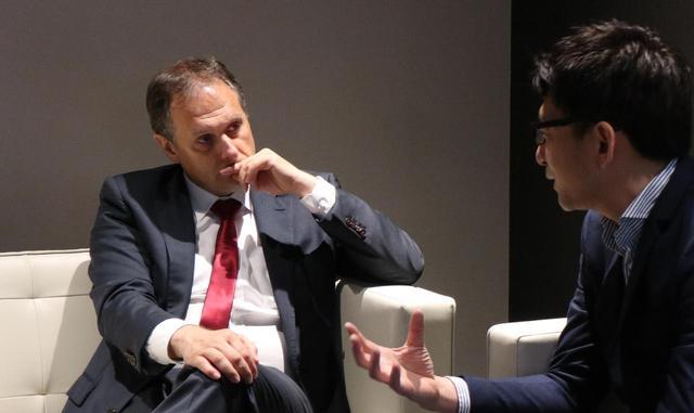 画像1: クリストフ プレヴォ社長への単独インタビューが実現。その模様をお届けします。