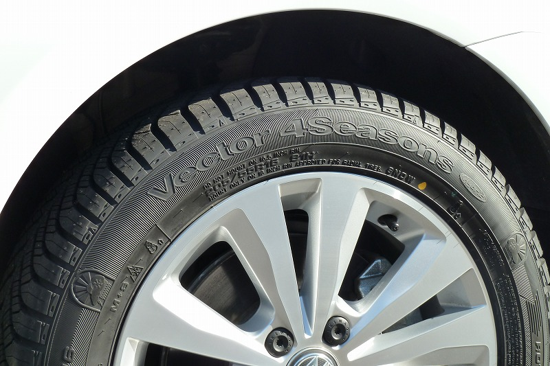 画像3: Good Year Vector 4Seasons Hybridをワンシーズン使ってみた。