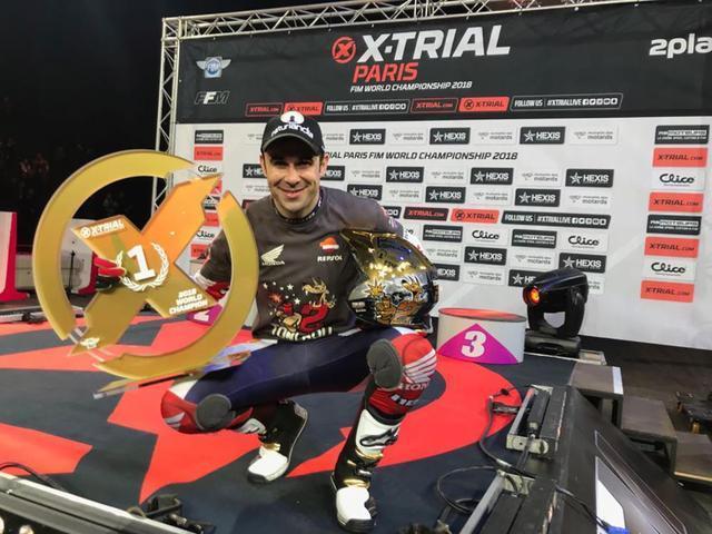 画像: 【トライアル2018】トニ・ボウがXトライアルを制覇