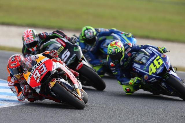 画像: 【モトGP2017 オーストラリアGP】マルケスが優勝。タイトル獲得に前進
