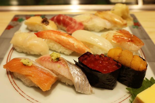 画像5: 落ち着いた店内でしっとりお寿司タイム