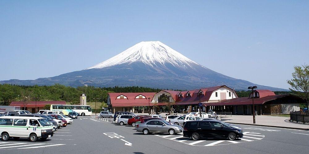 画像: 富士宮市の道の駅 朝霧高原 富士山観光の際に是非