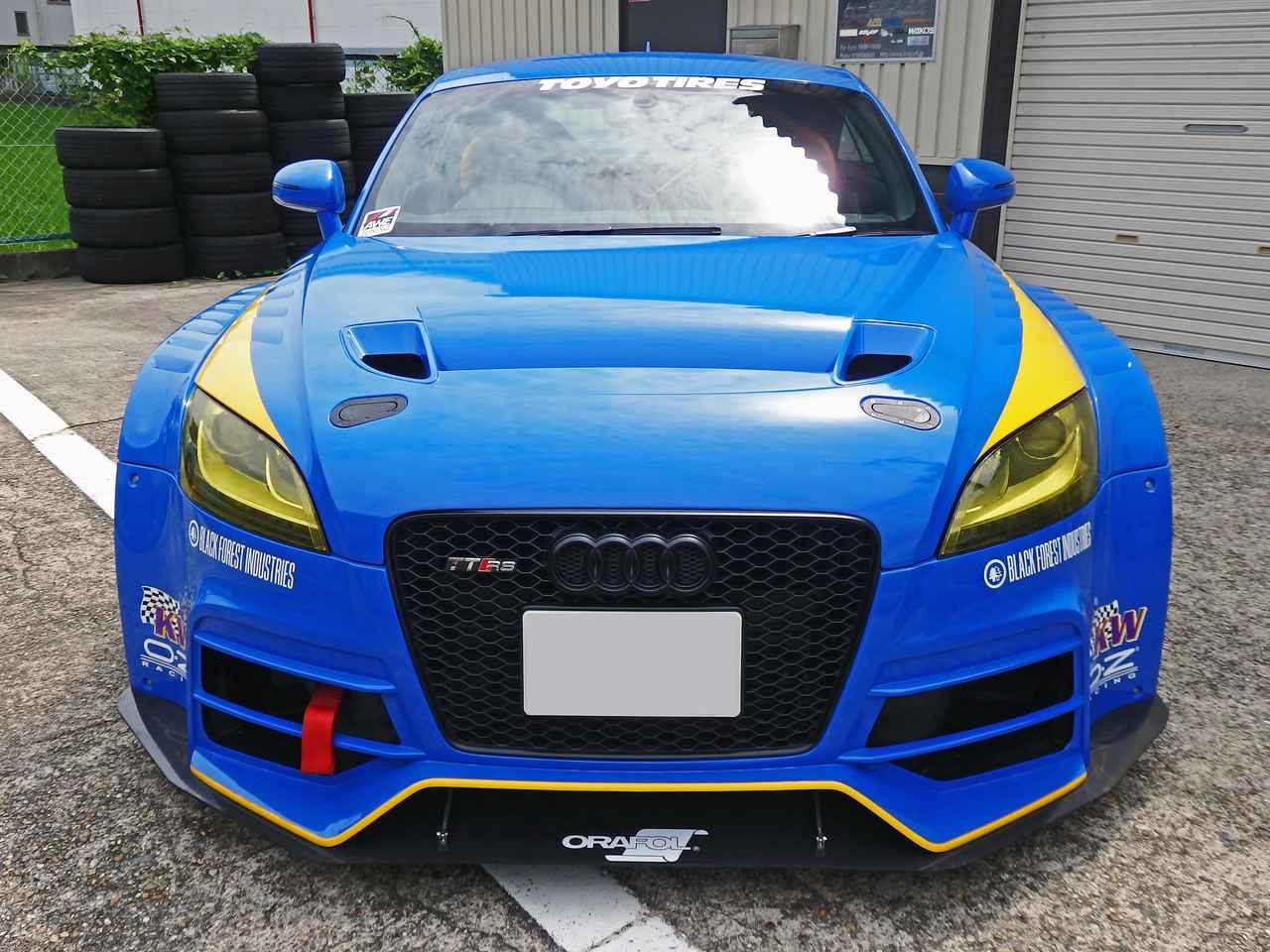 画像1: Audi sportのレーススタイルを市販車で再現