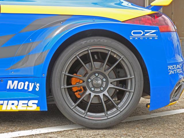 画像2: ホイールはOZ Racingでレーシーにドレスアップ