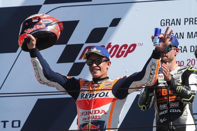 画像: 【モトGP2018 サンマリノGP】マルク・マルケスが価値ある表彰台を獲得