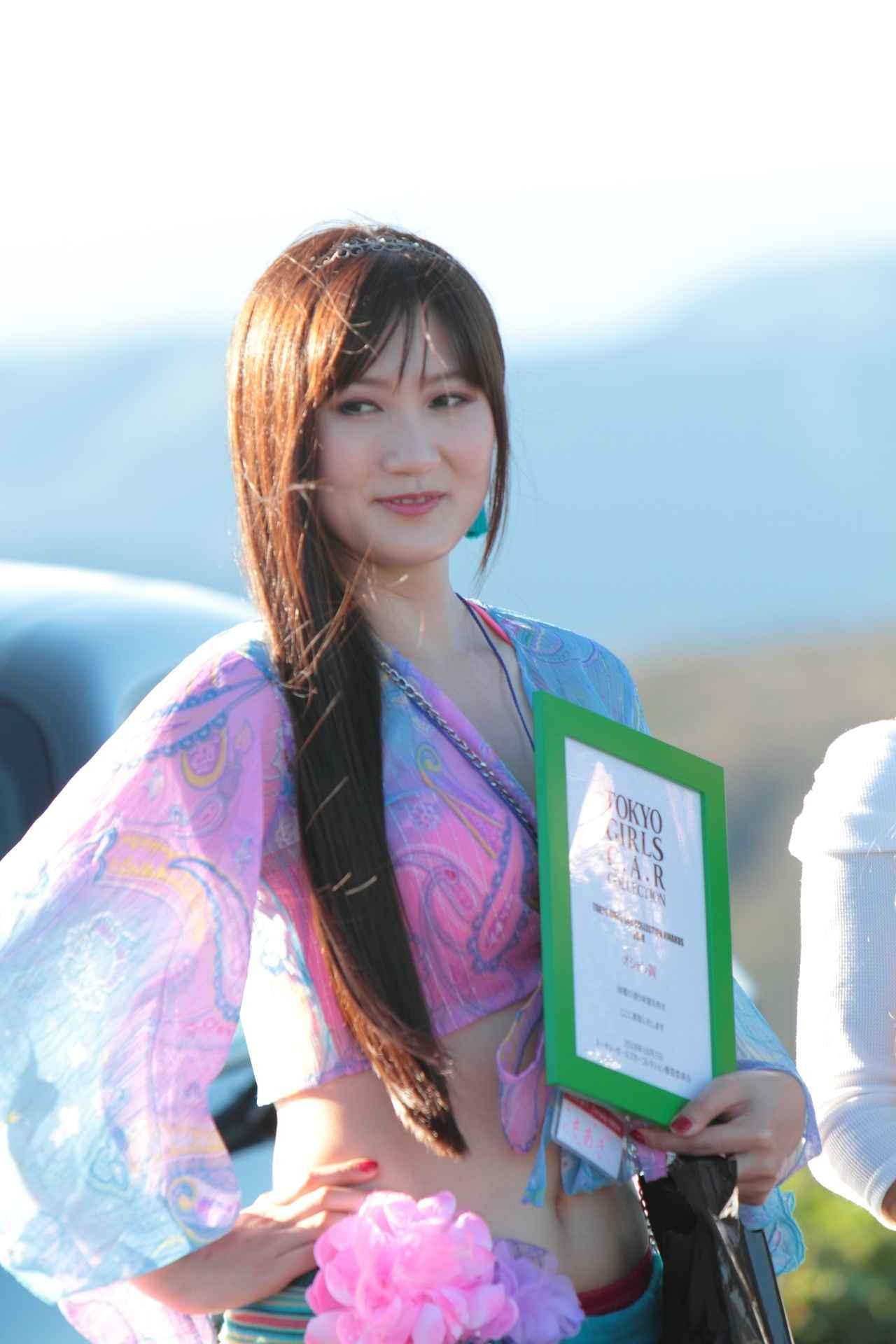 画像: オシャレ賞に輝いたアテンザオーナーのちあきちゃんはベリーダンスの衣装で参戦!