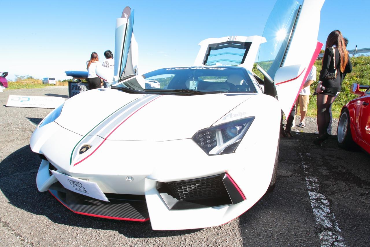 画像: 5位☆ランボルギーニ アヴェンタドール☆昨年はR35GT-Rでの参加でしたが今年は増車したアヴェンタドールで参加!