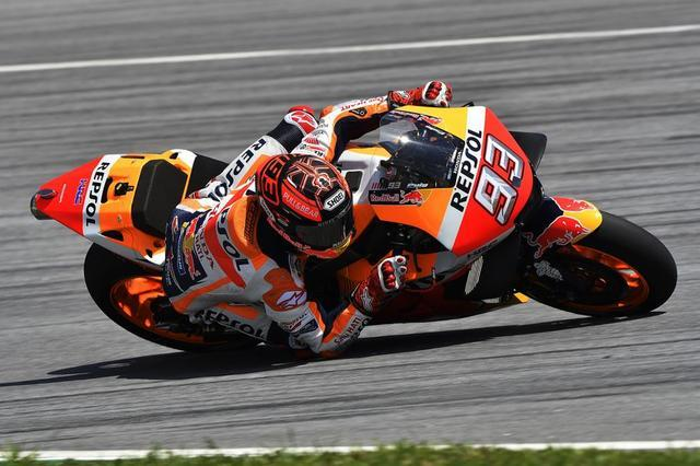画像: 【モトGP マレーシア・テスト1日目】マルケスがファステスト・ラップを記録