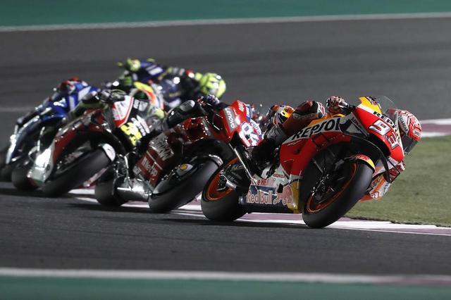 画像: 【モトGP2019 カタールGP】マルケスが表彰台スタート