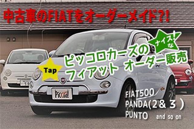 画像: フィアット500やパンダの中古車購入はピッコロカーズのオーダー販売 | Unisex Cars Market Japan
