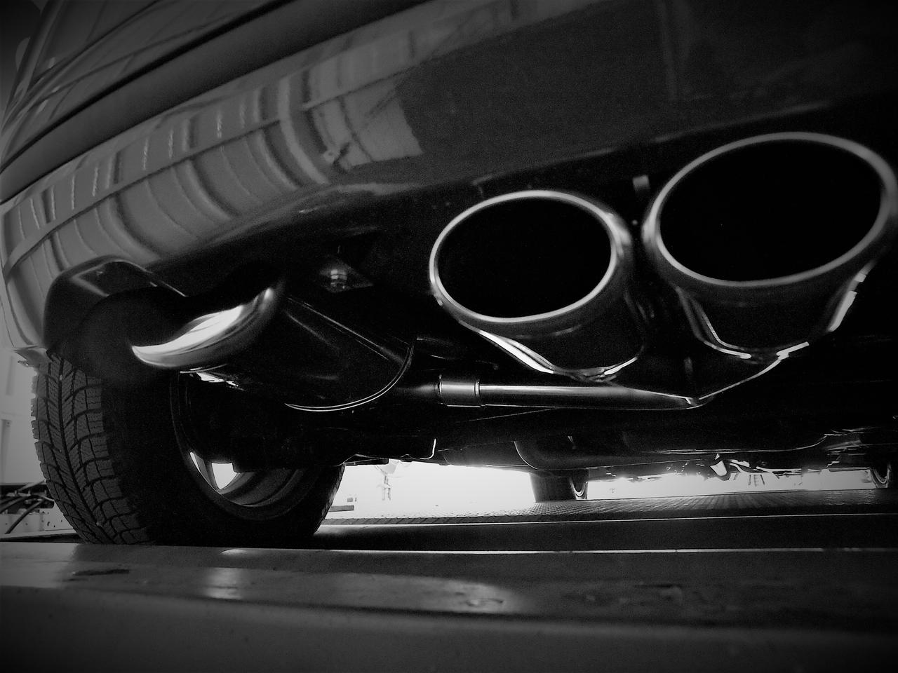 Images : 6番目の画像 - T.M.WORKS High-Performance Muffler - carcleCOVO