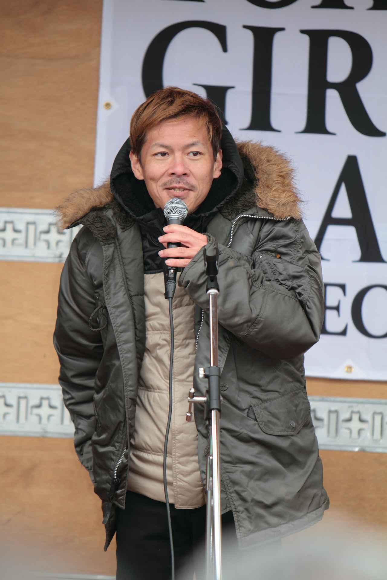 画像: ICE FUSE代表の長谷川さん