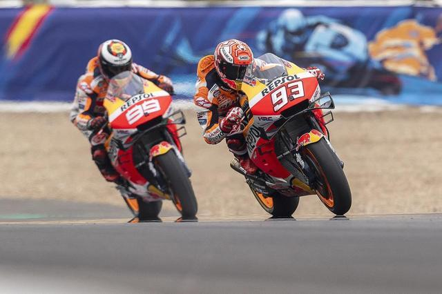 画像: 【モトGP2019 スペインGP2日目】マルケスは1列目、ロレンソは4列目からスタート