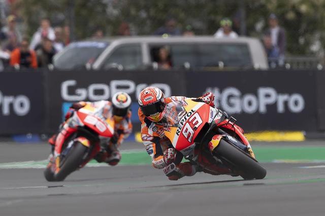 画像: 【モトGP2019 フランスGP1日目】初日マルケスは2位、ロレンソは4位