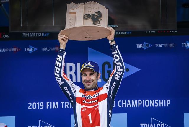 画像: 【トライアル世界選手権2019 開幕戦イタリア】トニ・ボウが優勝でスタート