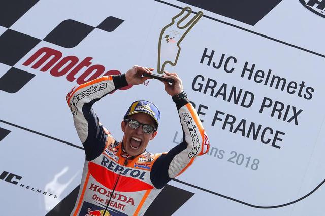 画像: 【モトGP2019 フランスGP直前】マルケスがトップでフランスGPに挑む