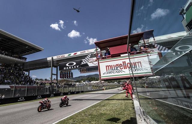 画像: 【モトGP2019 イタリアGP】マルケスが2位に入り、リードを広げる